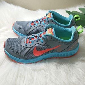 Nike | 6.5 Wild Trail Athletic Shoes aqua gr…